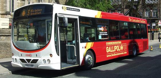 ROSSO GALLIPOLI 100 BUS