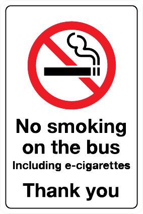 V_28 No Smoking on the bus